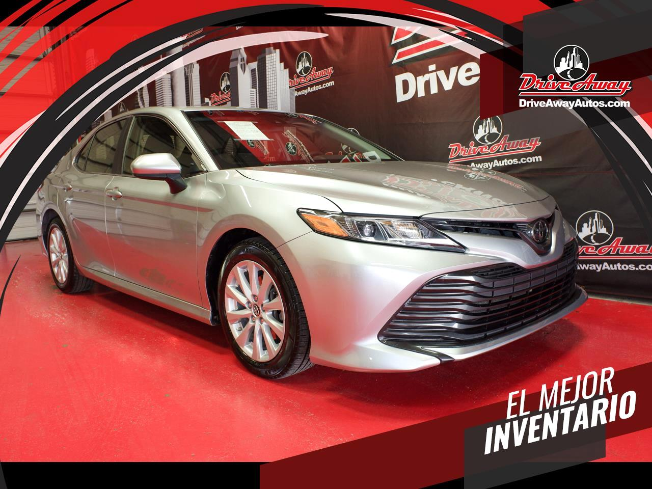 used 2018 toyota camry xle auto natl for sale in houston tx 77076 drive away autos drive away autos