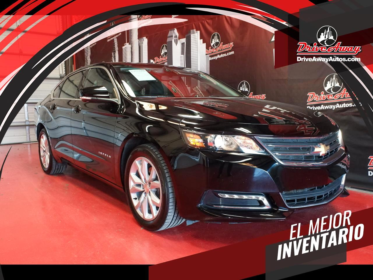 Chevrolet Impala 4dr Sdn LT w/1LT 2019