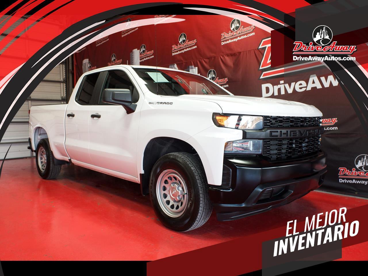 "Chevrolet Silverado 1500 2WD Double Cab 147"" Work Truck 2019"