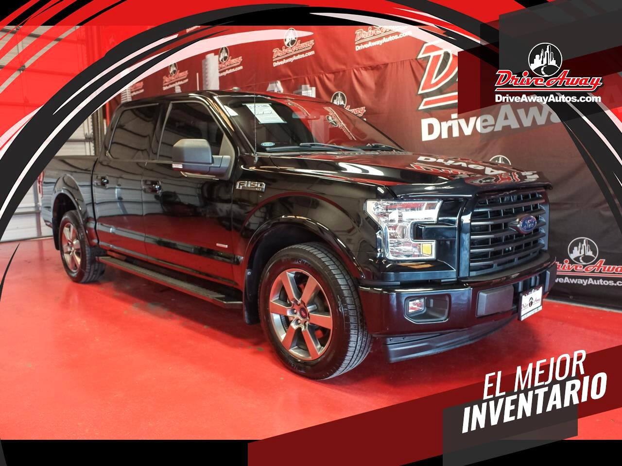 Ford F-150 King Ranch 2WD SuperCrew 5.5' Box 2017