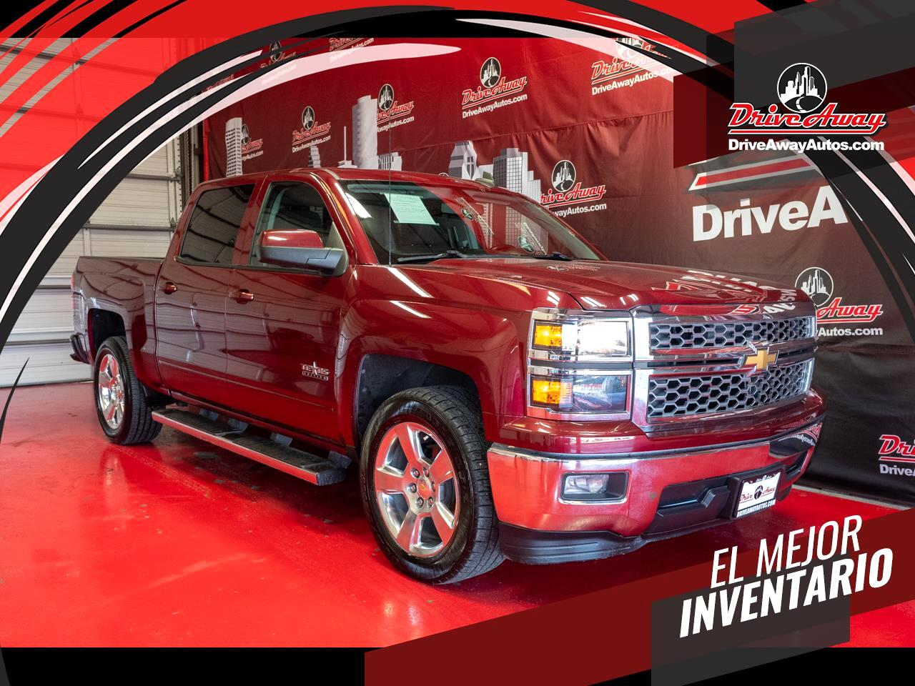 """Chevrolet Silverado 1500 2WD Crew Cab 143.5"""" LT w/1LT 2015"""