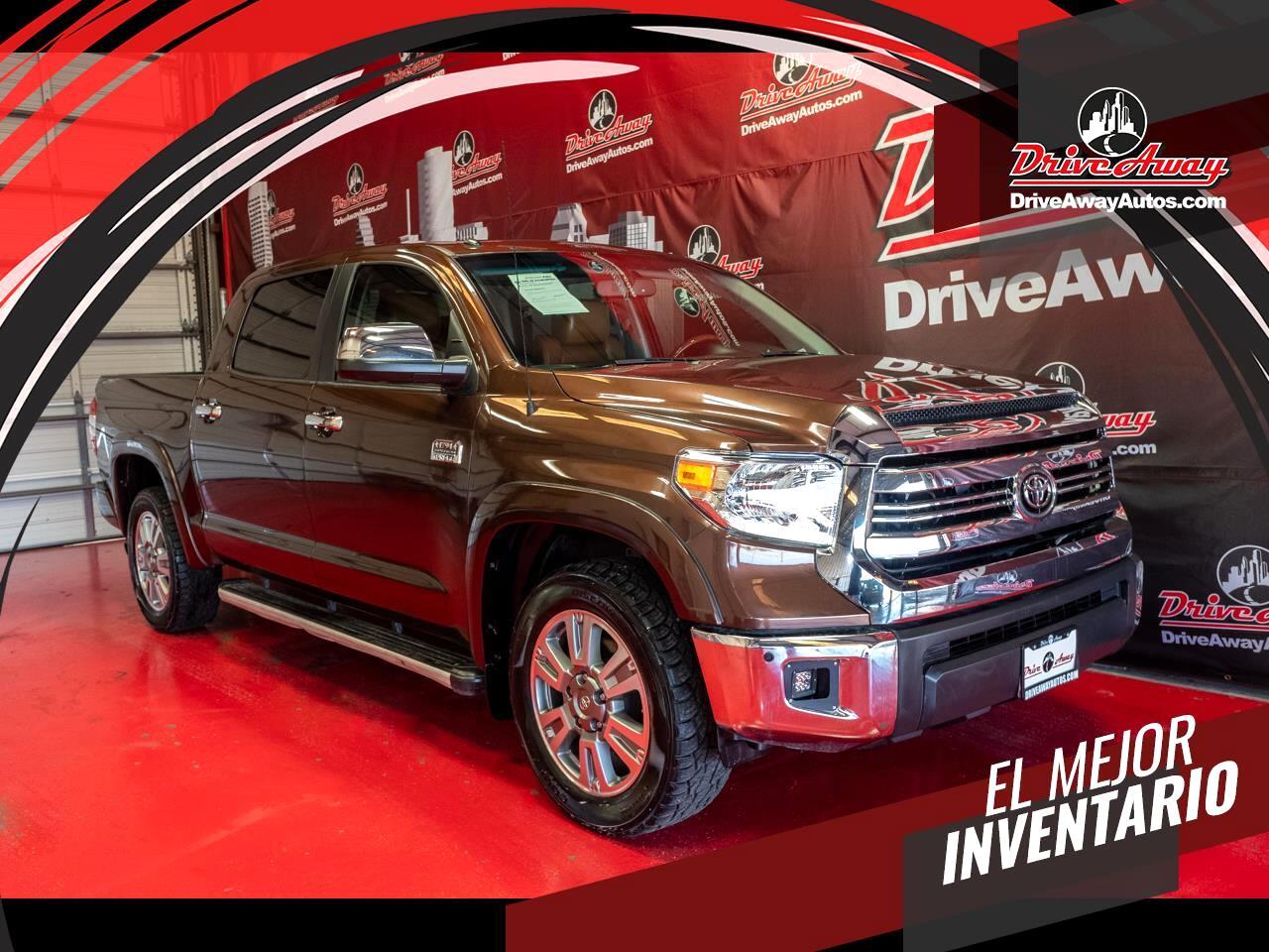 Toyota Tundra 2WD Truck CrewMax 5.7L V8 6-Spd AT Platinum (Natl) 2014