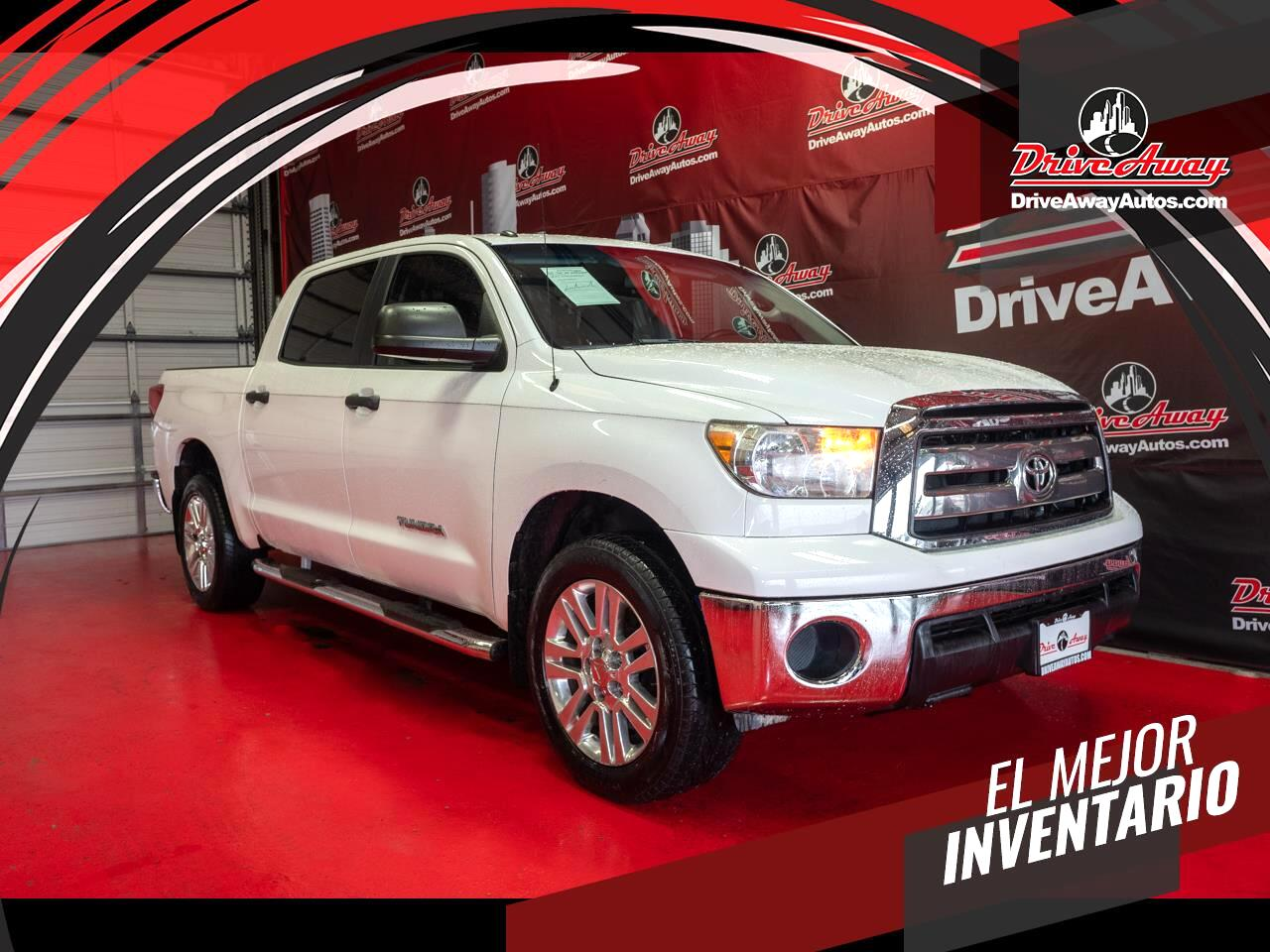 Toyota Tundra 2WD Truck CrewMax 4.6L V8 6-Spd AT (Natl) 2013