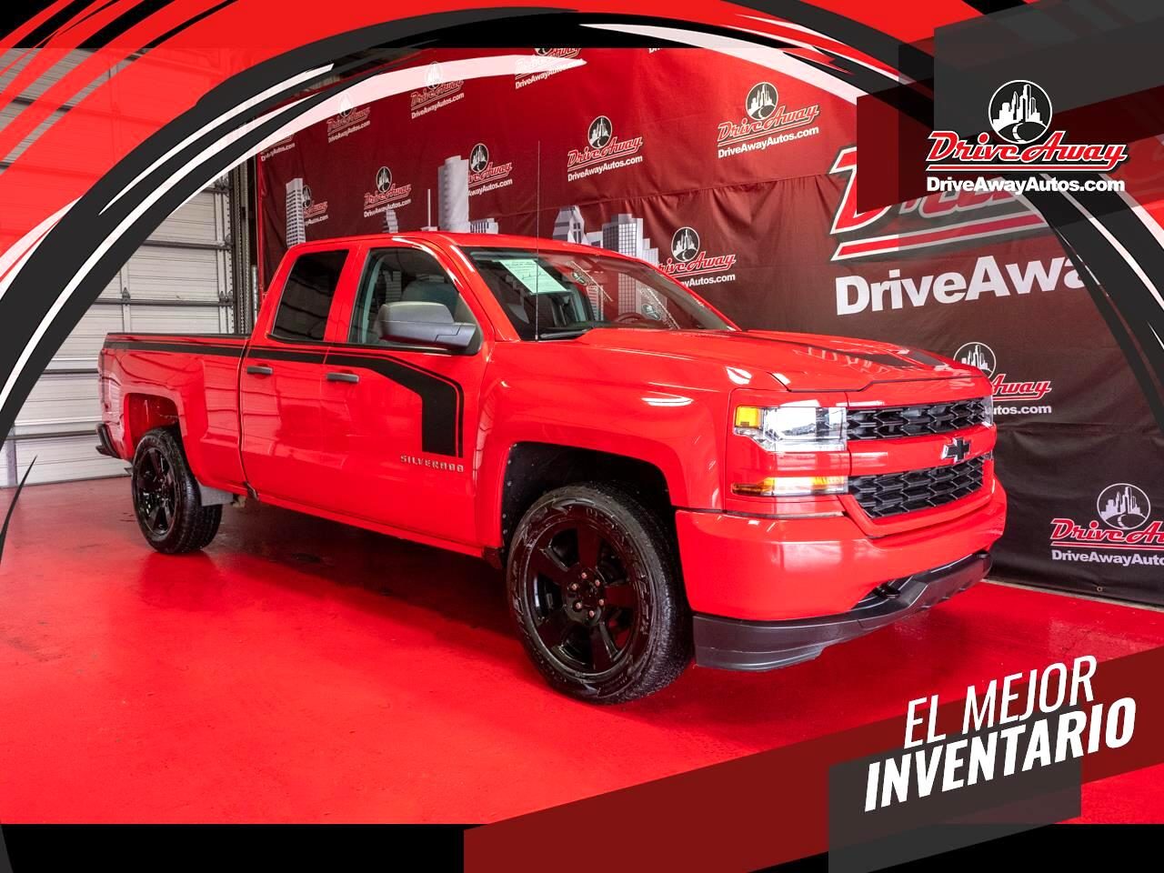 "Chevrolet Silverado 1500 4WD Double Cab 143.5"" Custom 2016"