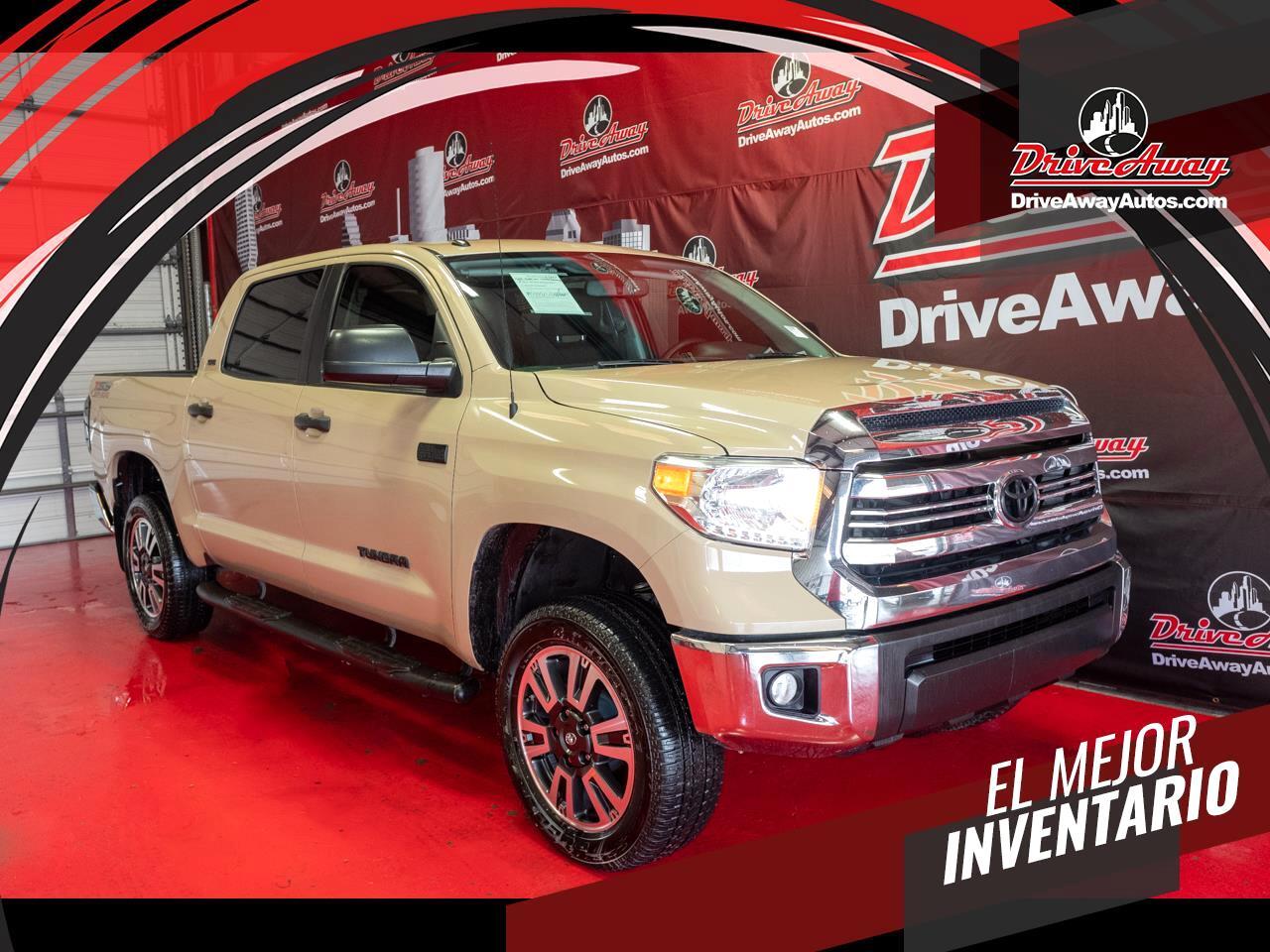 Toyota Tundra 4WD TRD Pro CrewMax 5.5' Bed 5.7L FFV (Natl) 2017