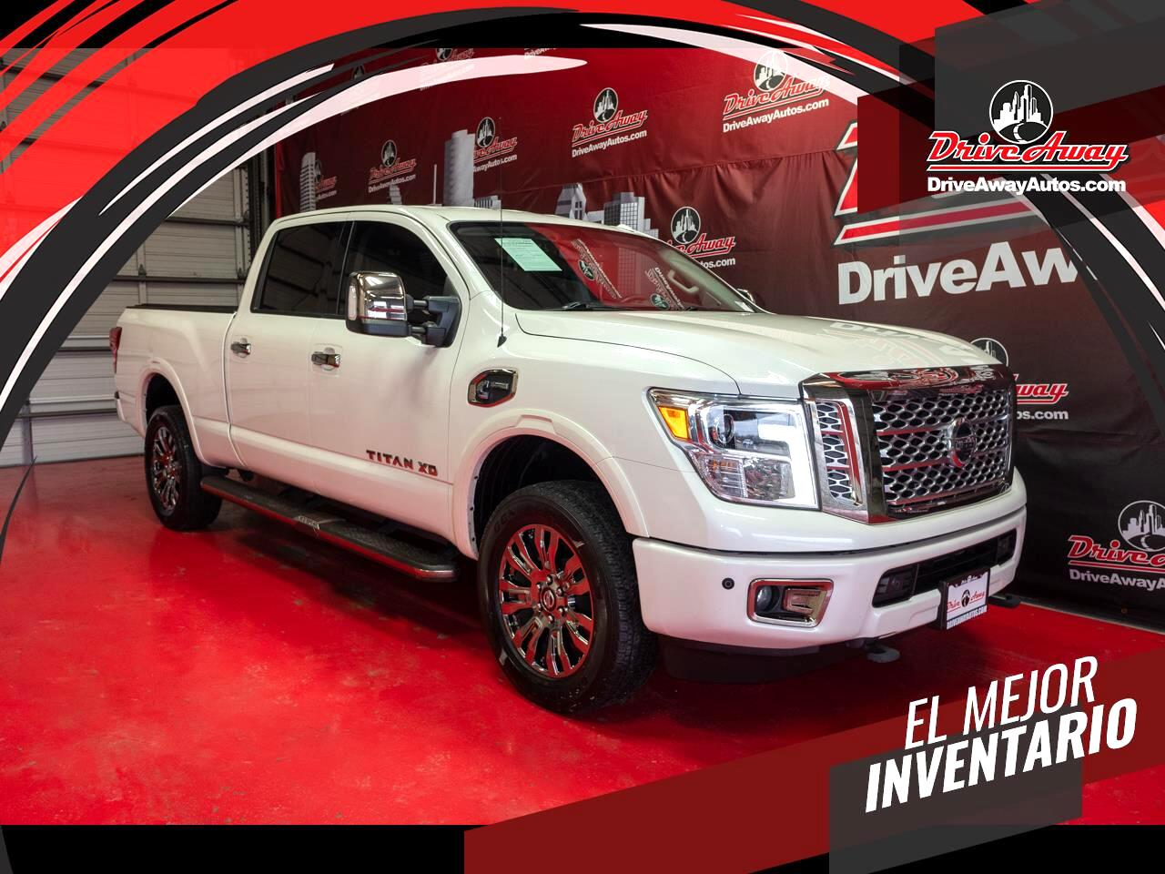 Nissan Titan XD 4x4 Diesel Crew Cab Platinum Reserve 2017