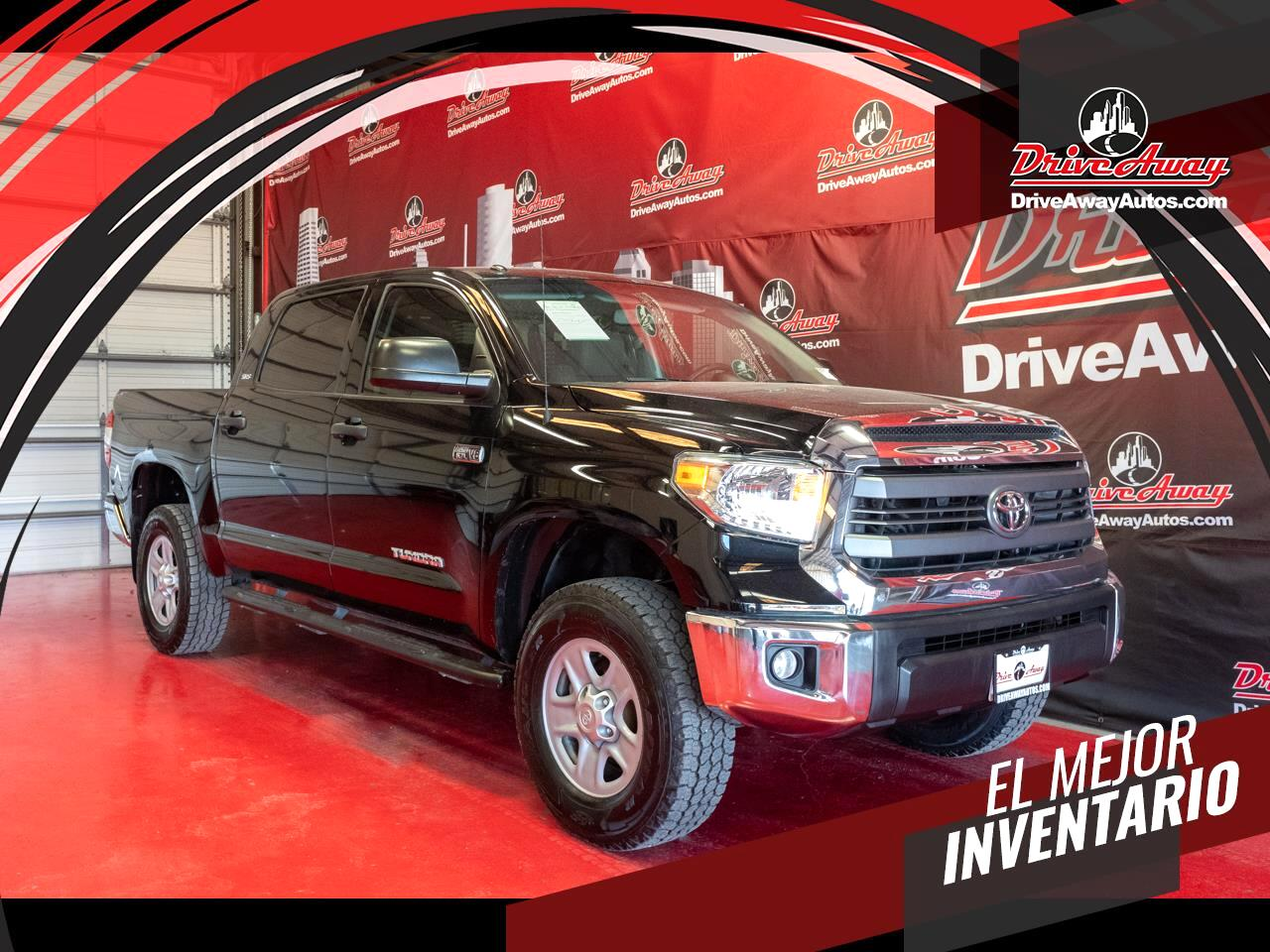 Toyota Tundra 2WD Truck CrewMax 5.7L V8 6-Spd AT SR5 (Natl) 2014