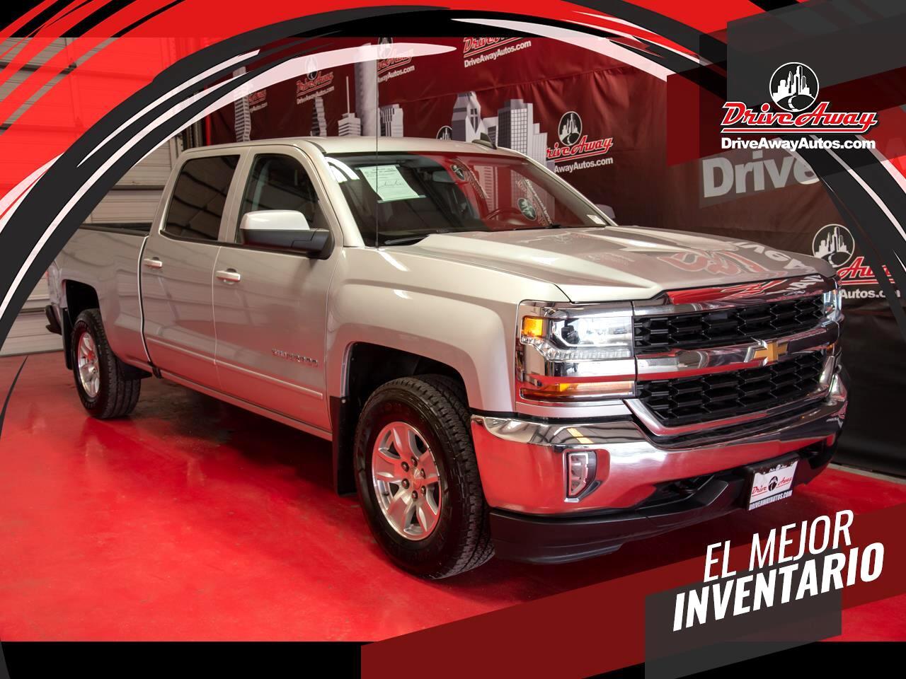 """Chevrolet Silverado 1500 2WD Crew Cab 153.0"""" LT w/1LT 2017"""