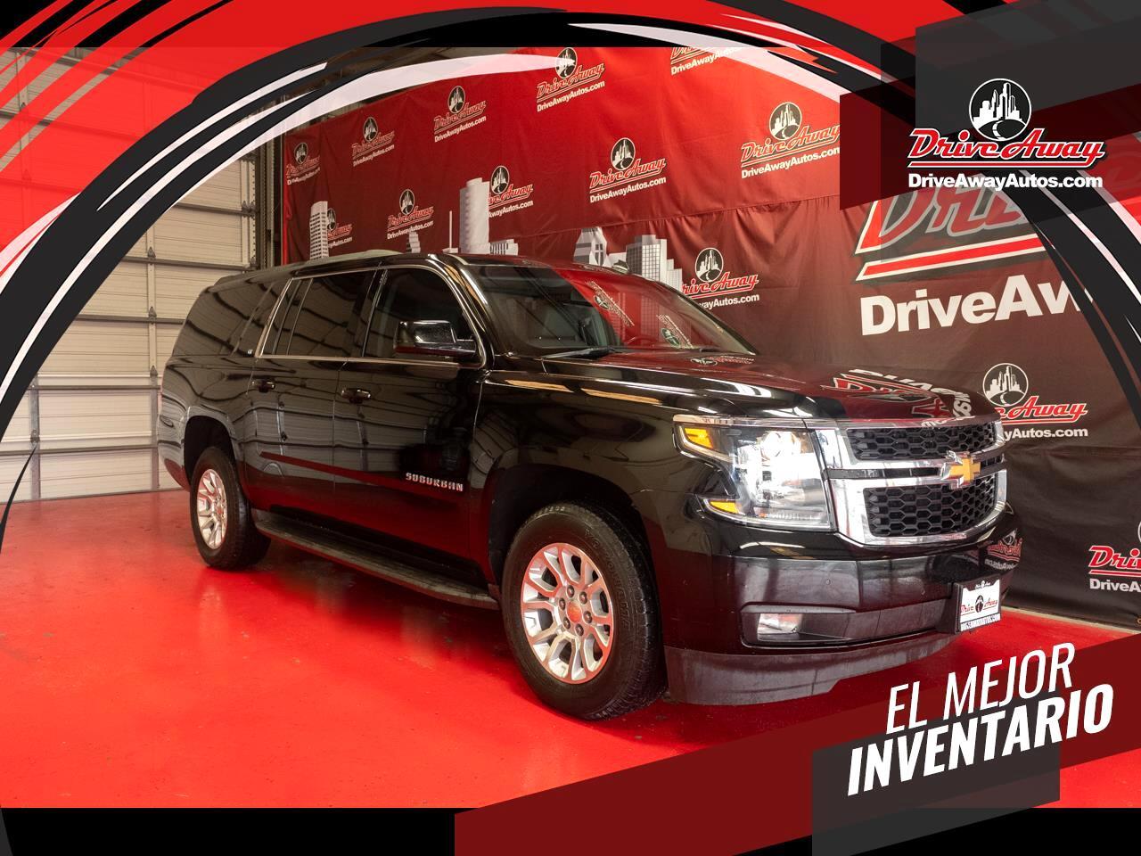 Chevrolet Suburban 2WD 4dr LT 2015