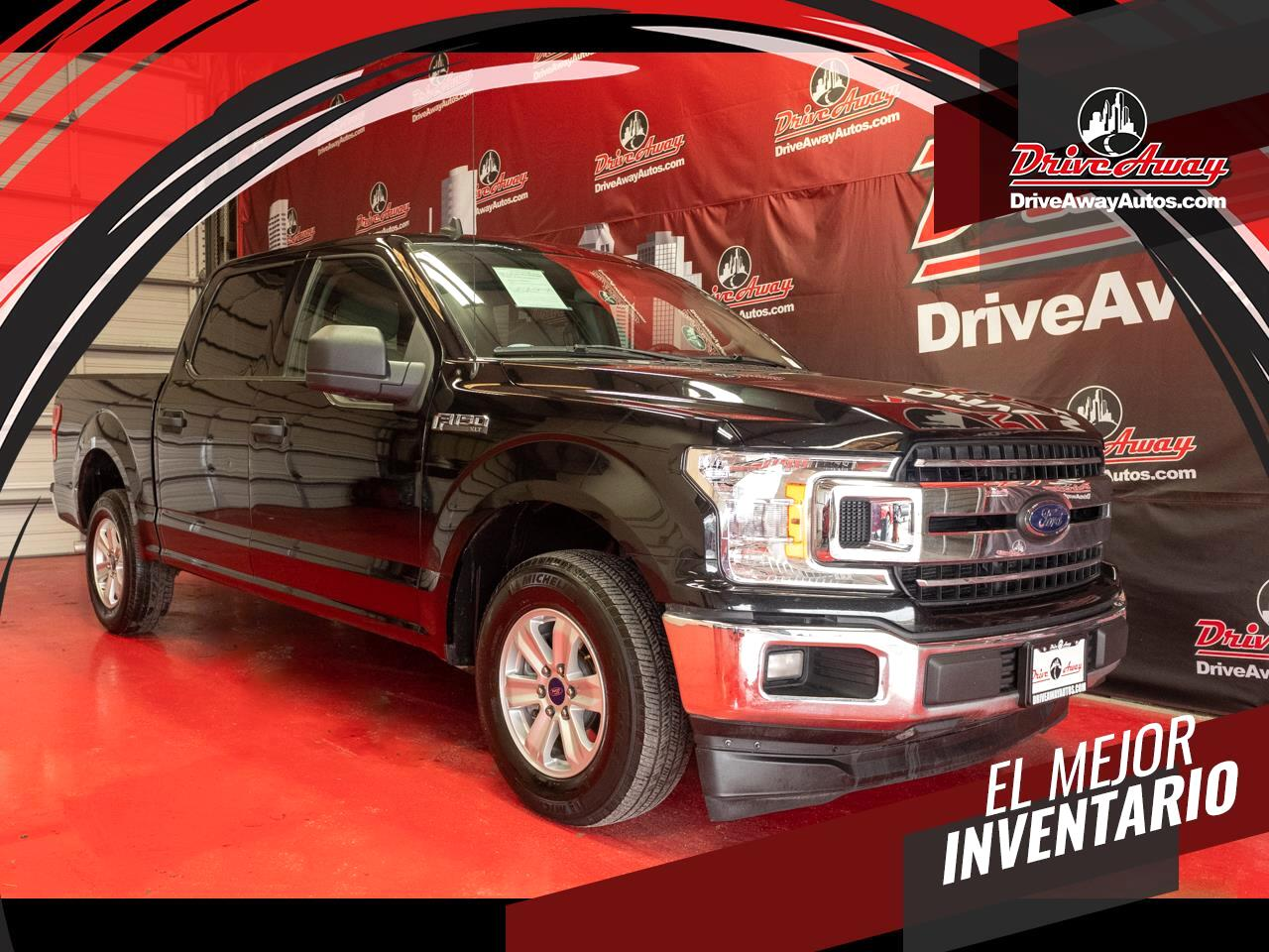 Ford F-150 King Ranch 2WD SuperCrew 5.5' Box 2019