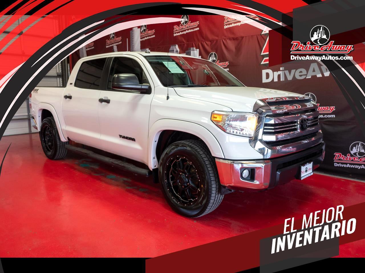 Toyota Tundra 2WD SR5 CrewMax 5.5' Bed 4.6L (Natl) 2017