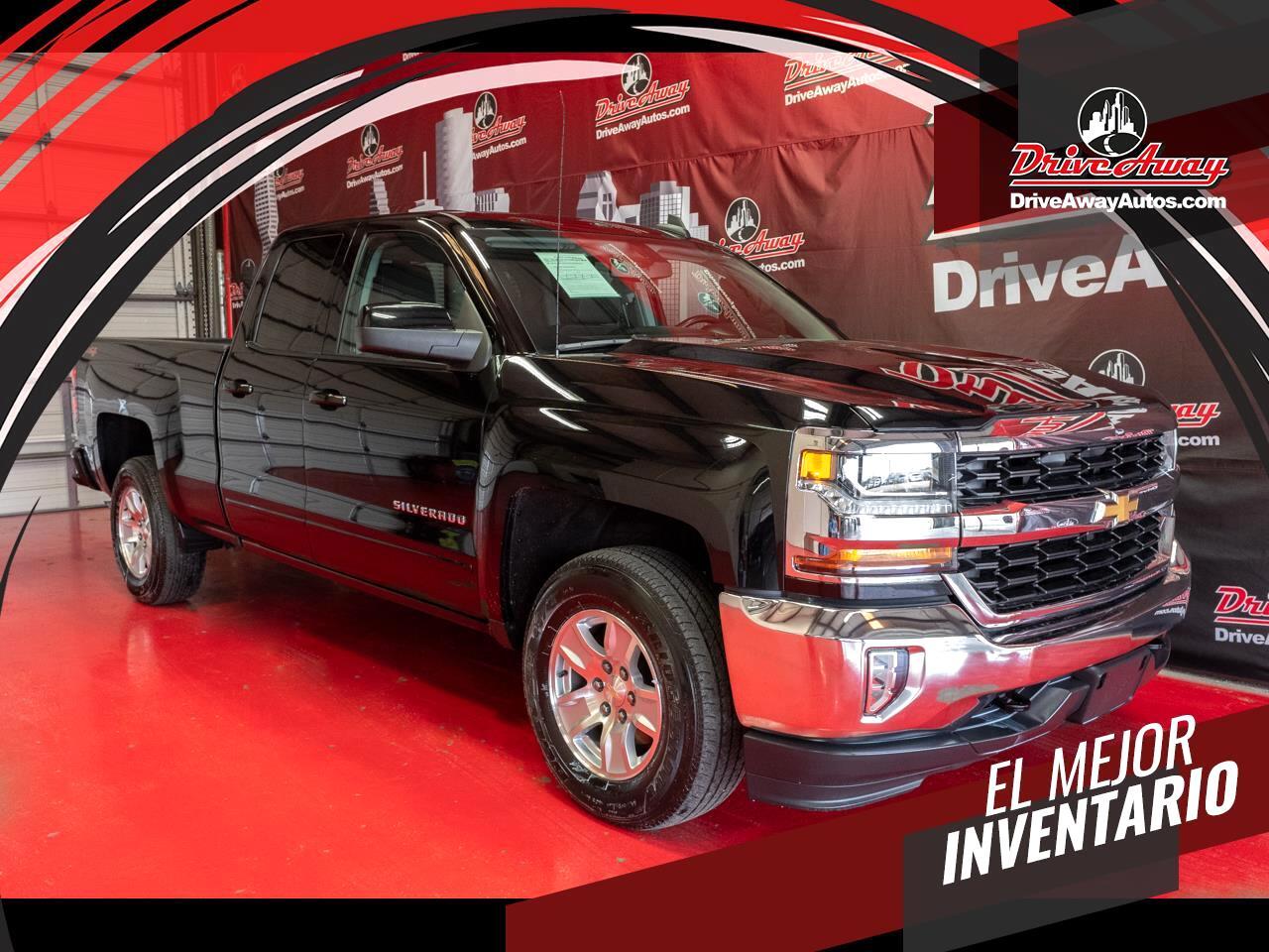 "Chevrolet Silverado 1500 4WD Double Cab 143.5"" LT w/1LT 2016"