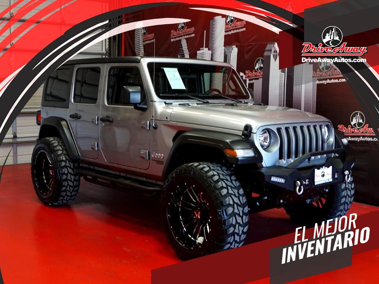 Jeep Wrangler Sport S Unlimited 4x4 2021