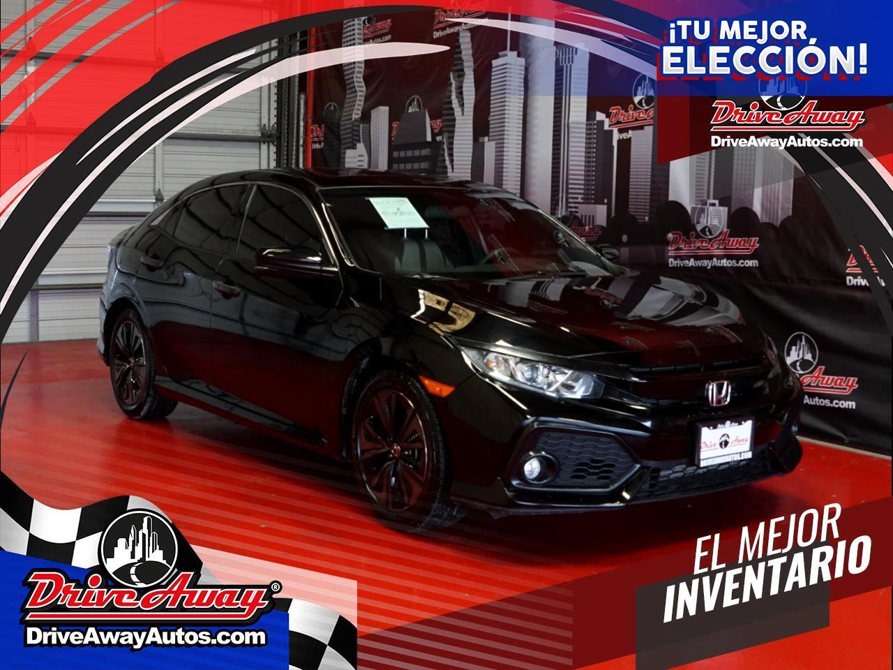 Honda Civic Hatchback EX CVT 2018