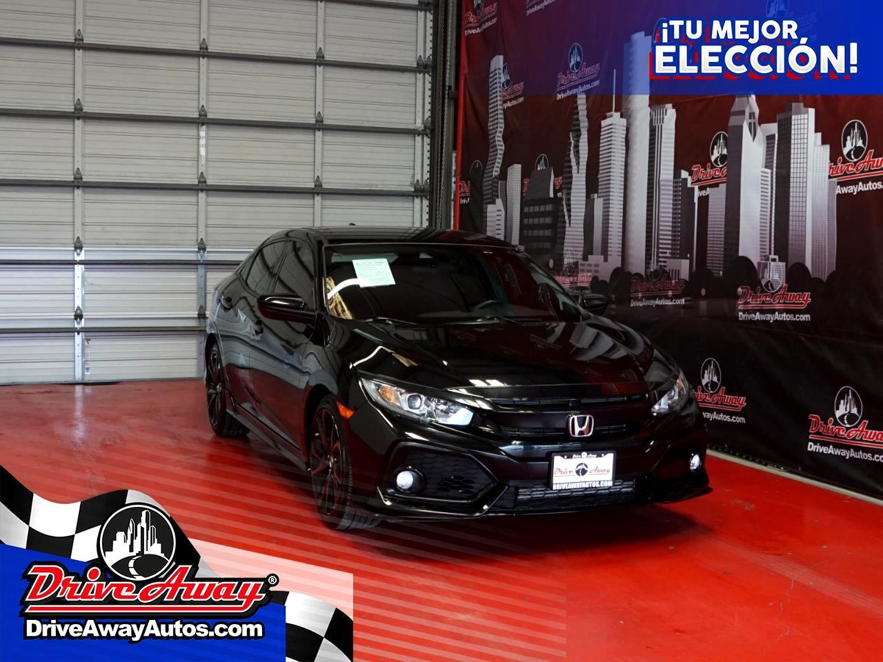 Honda Civic Hatchback Sport CVT 2019