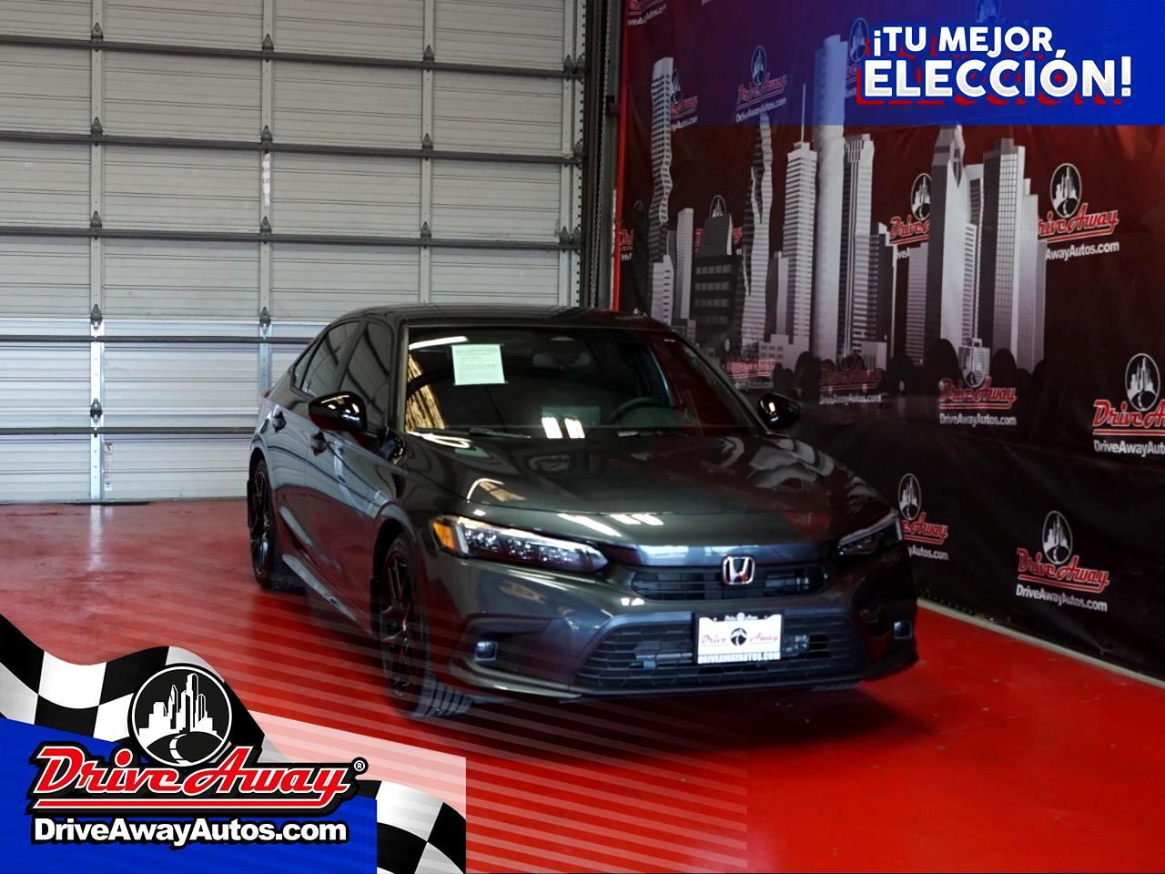 Honda Civic Sedan Sport CVT 2022