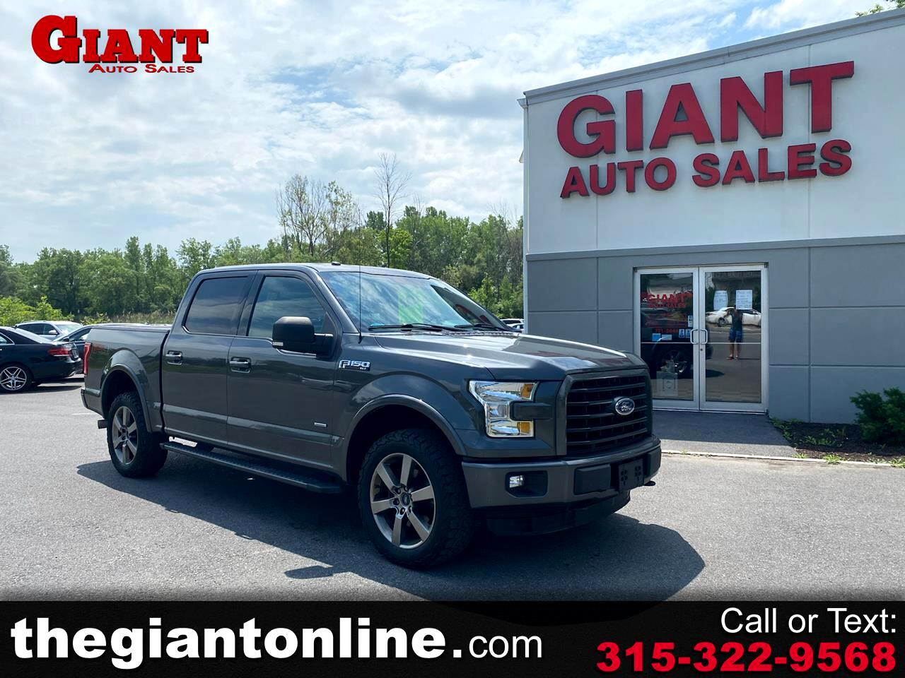 "Ford F-150 4WD SuperCrew 145"" FX4 2016"