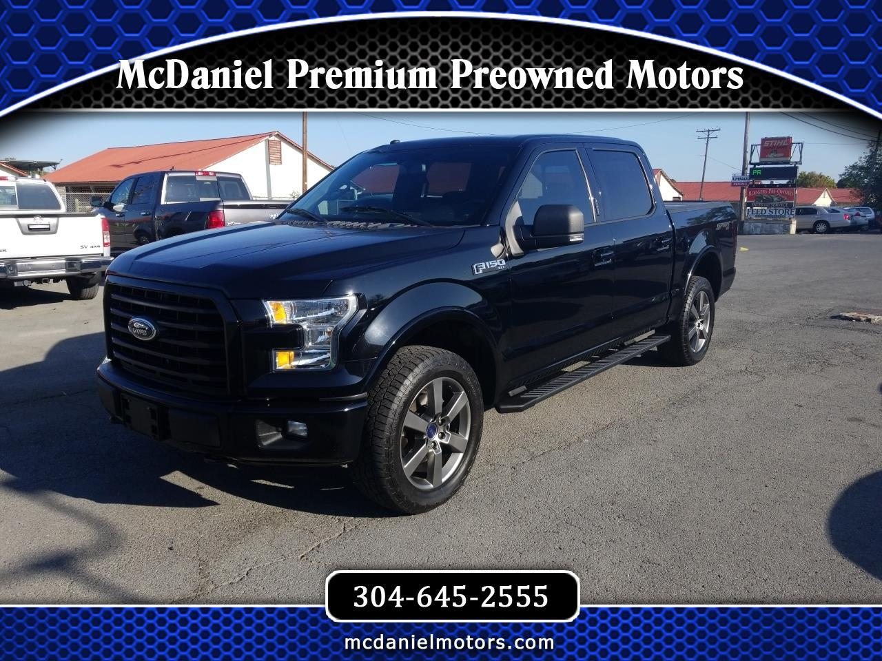 "Ford F-150 SuperCrew 139"" XLT 4WD 2016"