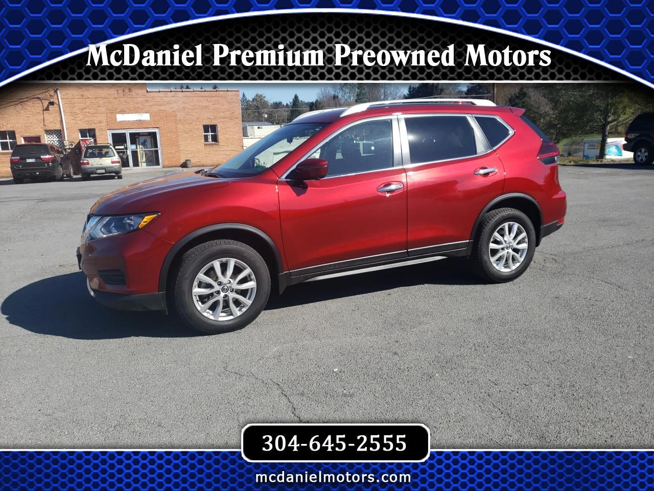 Nissan Rogue AWD 4dr SV 2018