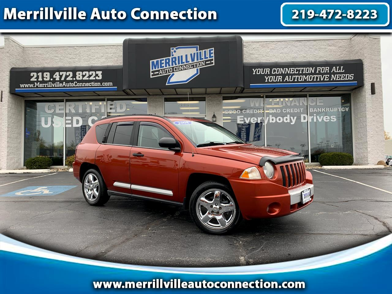Jeep Compass 4WD 4dr Limited 2008