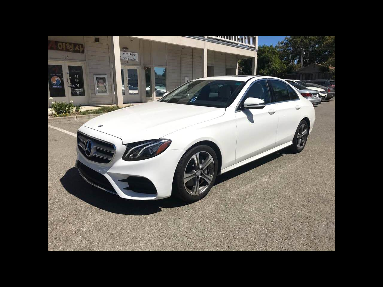 Mercedes-Benz E-Class E300 Luxury Sedan 2017