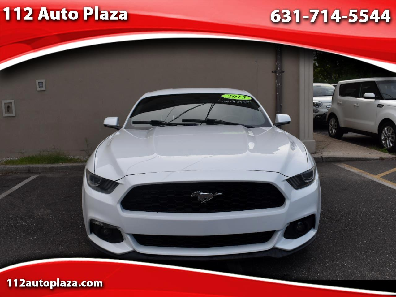 Ford Mustang 2dr Fastback EcoBoost 2015