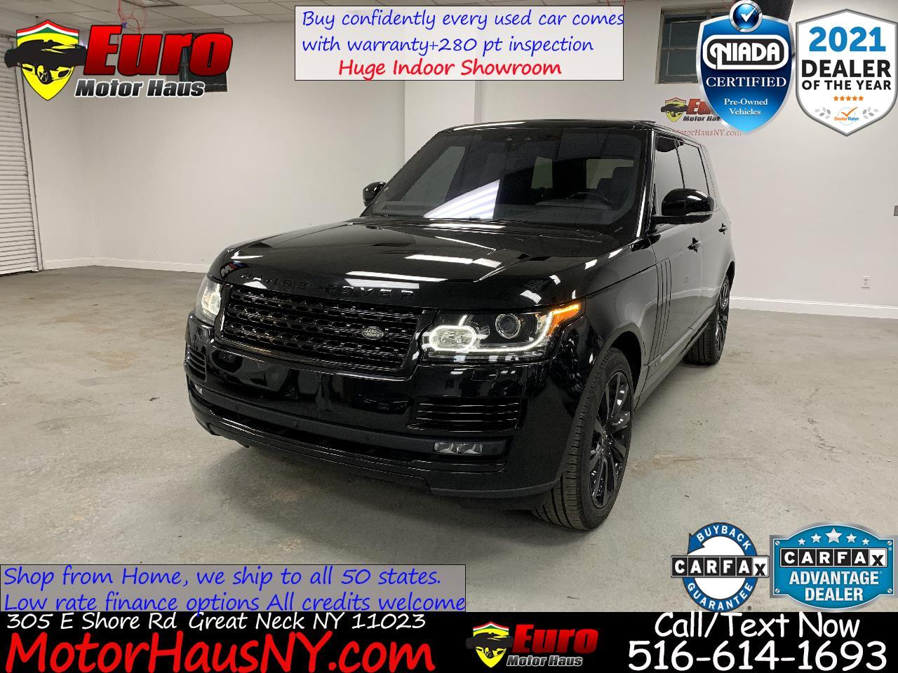 Land Rover Range Rover Supercharged LWB 2017