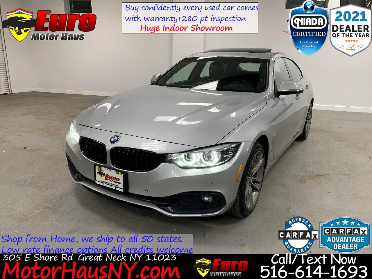 BMW 4-Series Gran Coupe  2018