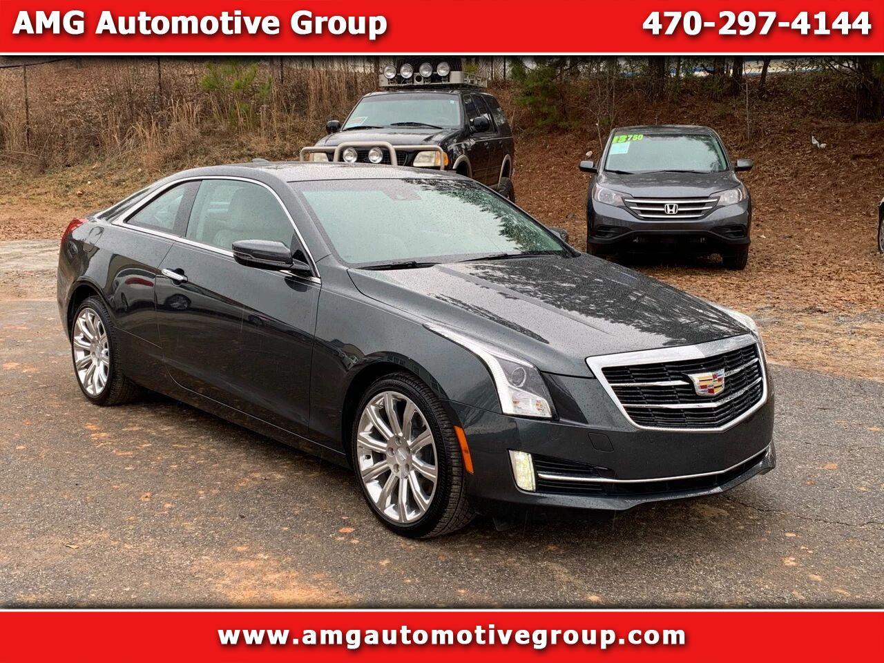 Cadillac ATS Coupe 2.0L Turbo Performance RWD 2015