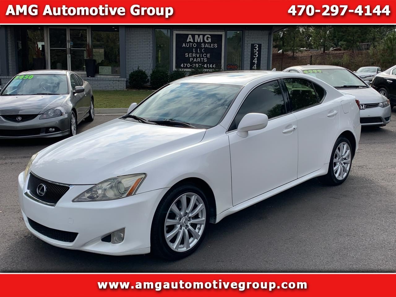 Lexus IS 250 4dr Sport Sdn Auto AWD 2008