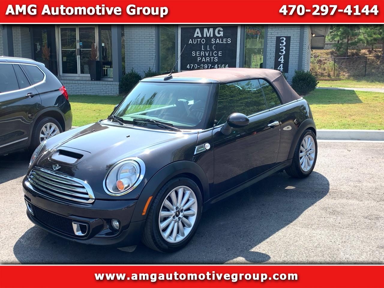 MINI Cooper Convertible 2dr S 2012