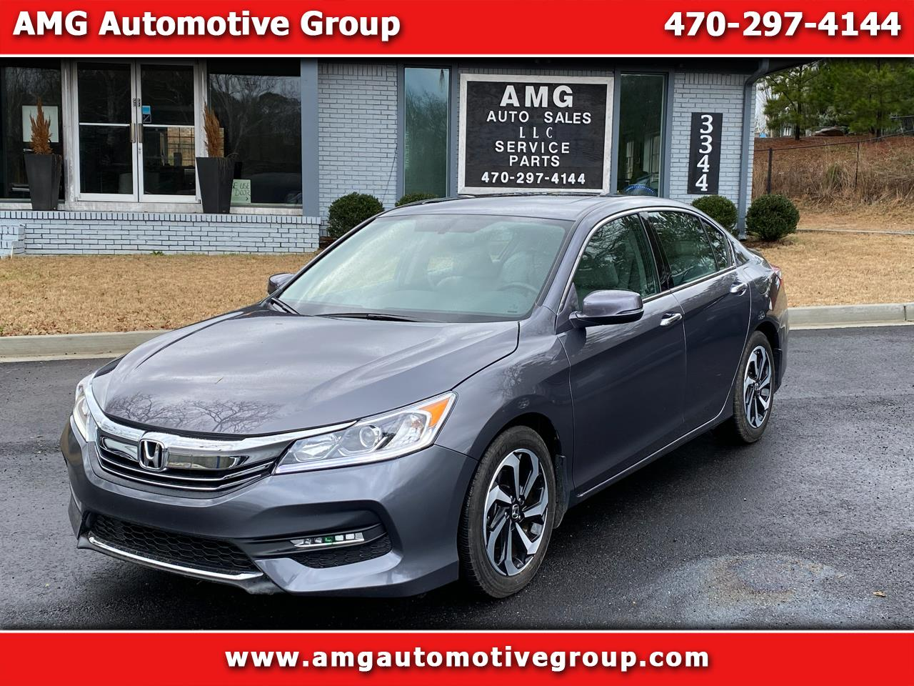 Honda Accord Sedan EX-L V6 Auto 2017