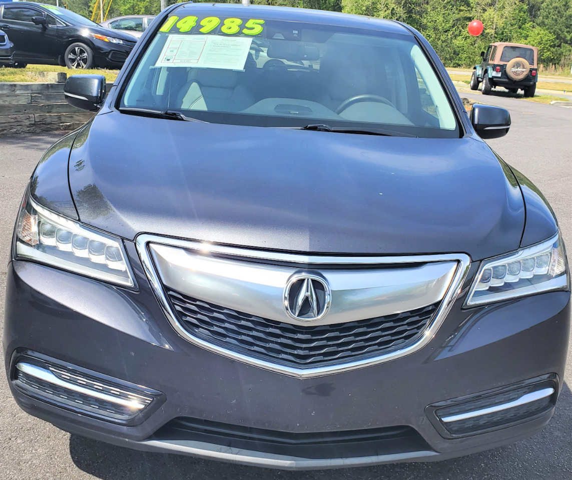 Used 2014 Acura MDX FWD 4dr Tech Pkg For Sale In Cumming