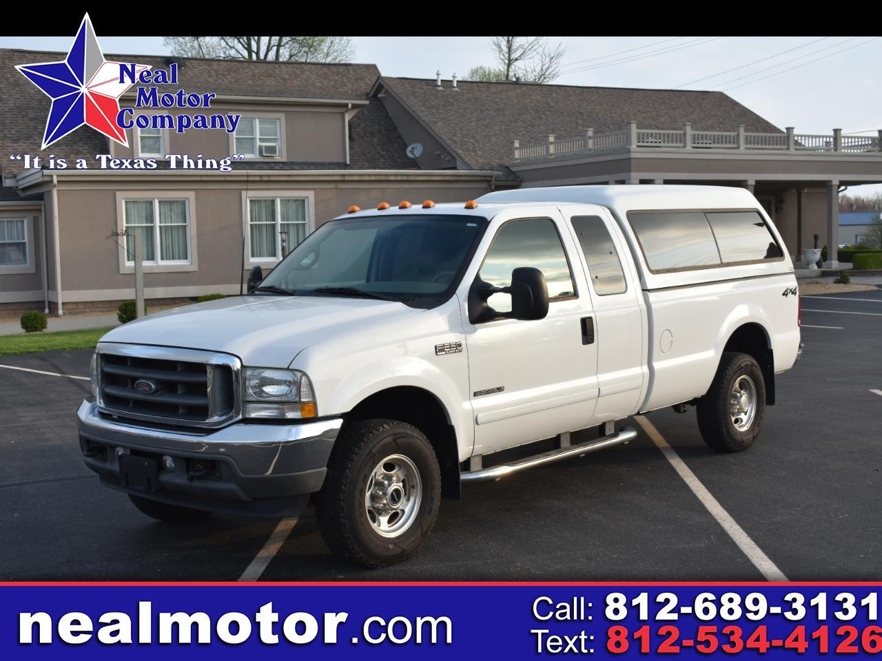 "Ford Super Duty F-250 Supercab 142"" Lariat 4WD 2002"