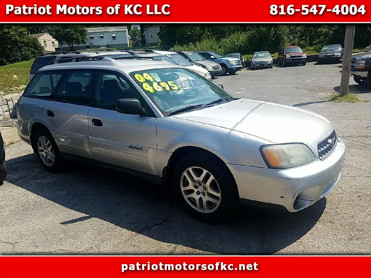 Subaru Outback Wagon w/All-weather Package 2004