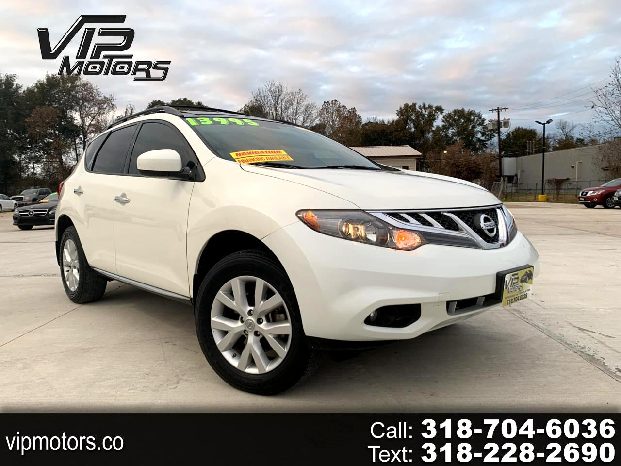 Nissan Murano FWD 4dr SL 2014