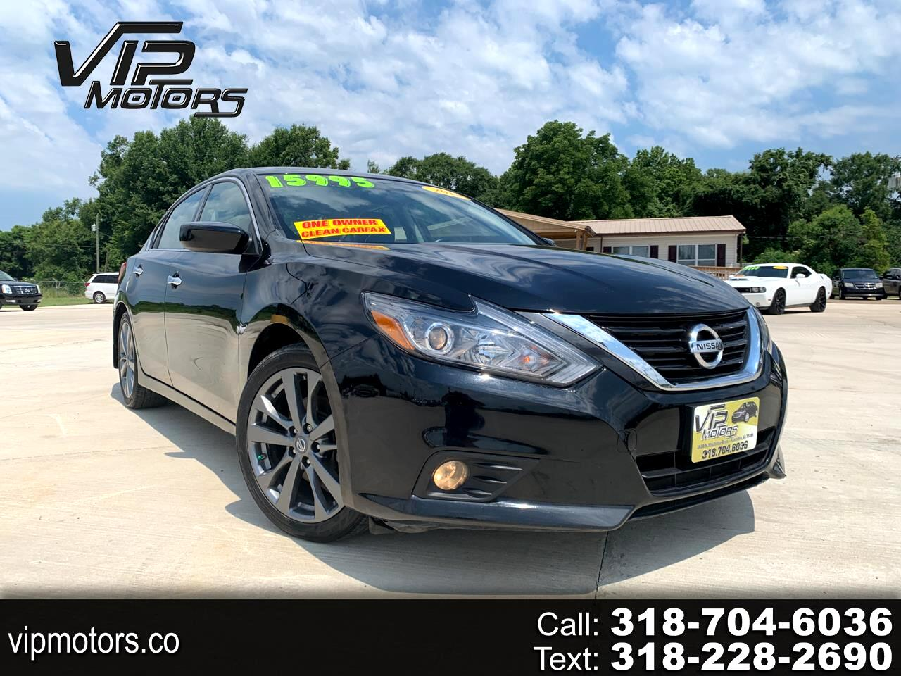 Nissan Altima 2.5 SR Sedan 2018