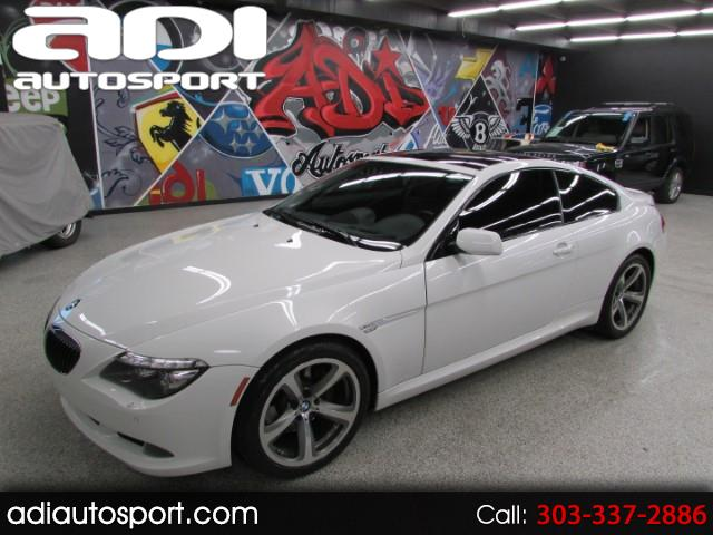 2008 BMW 6-Series 650i Coupe