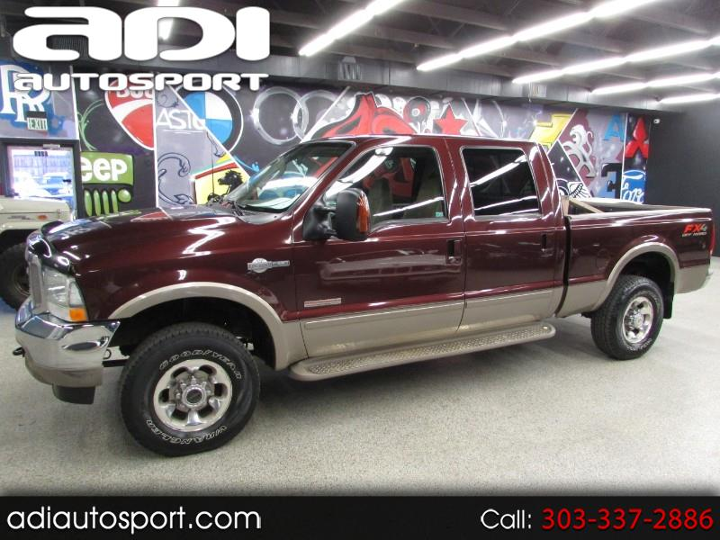 2003 Ford F-250 SD King Ranch Crew Cab Short Bed 4WD