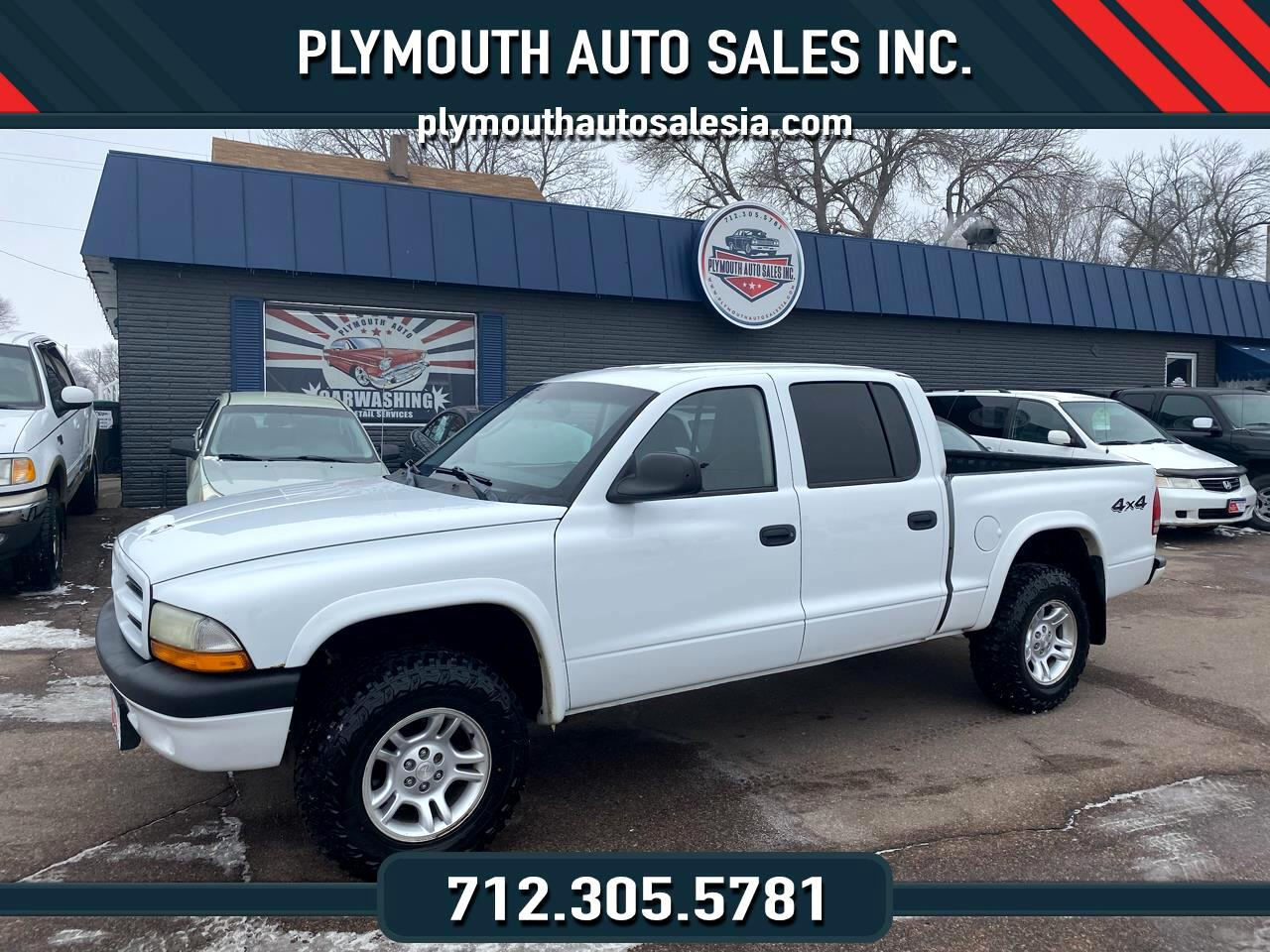 Dodge Dakota Sport Quad Cab 4WD 2003