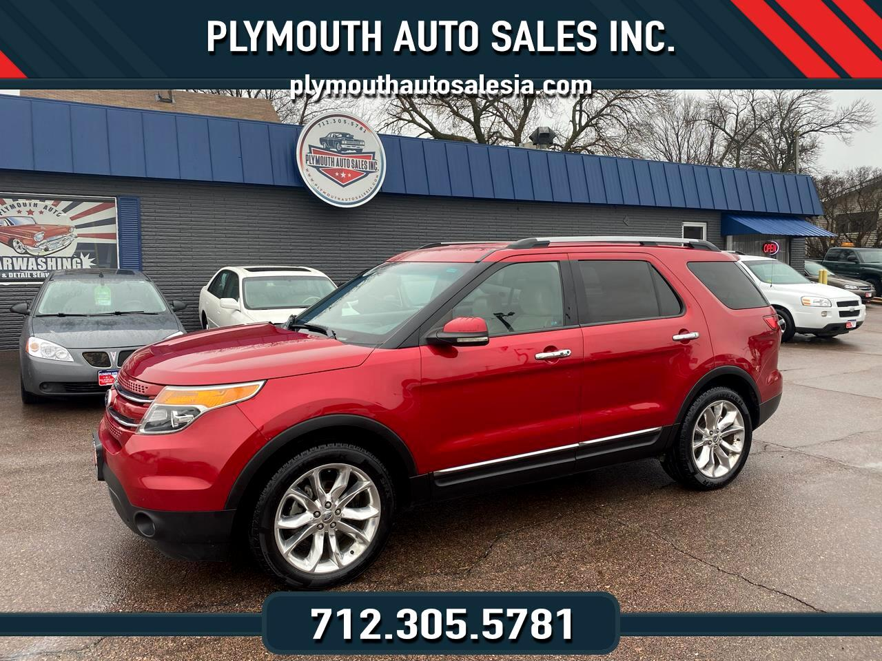 2011 Ford Explorer Limited >> Used 2011 Ford Explorer Limited 4wd For Sale In Le Mars Ia