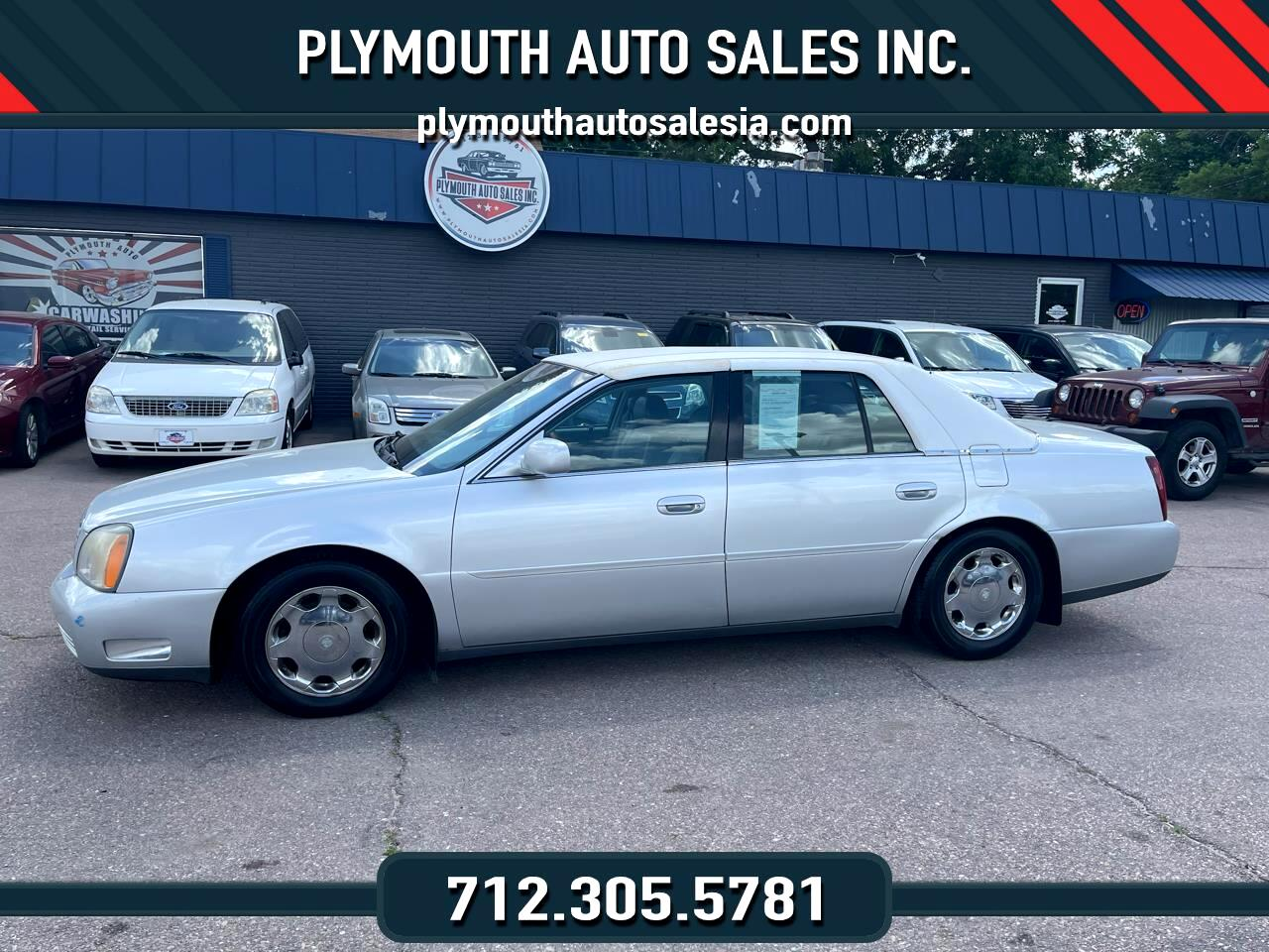 Cadillac DeVille 4dr Sdn DHS 2001