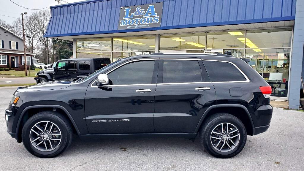 Jeep Grand Cherokee 4dr Limited 4WD 2017