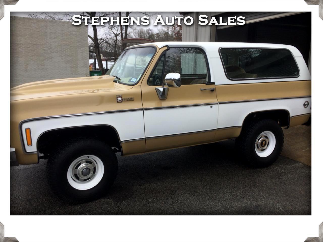 Chevrolet Blazer 2-Door 4WD 1975