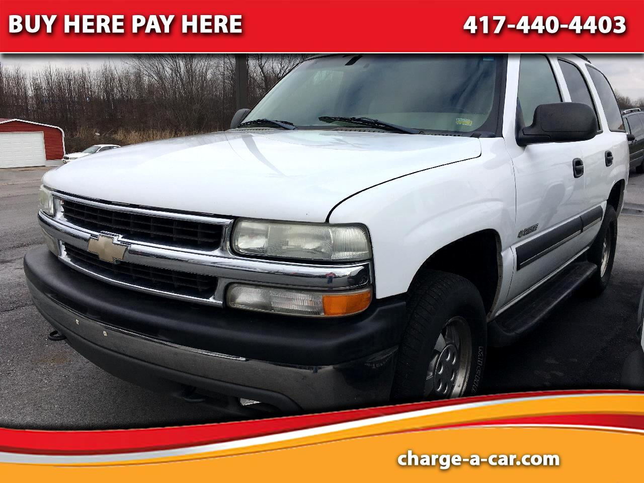 Chevrolet Tahoe 4dr 1500 4WD LS 2003