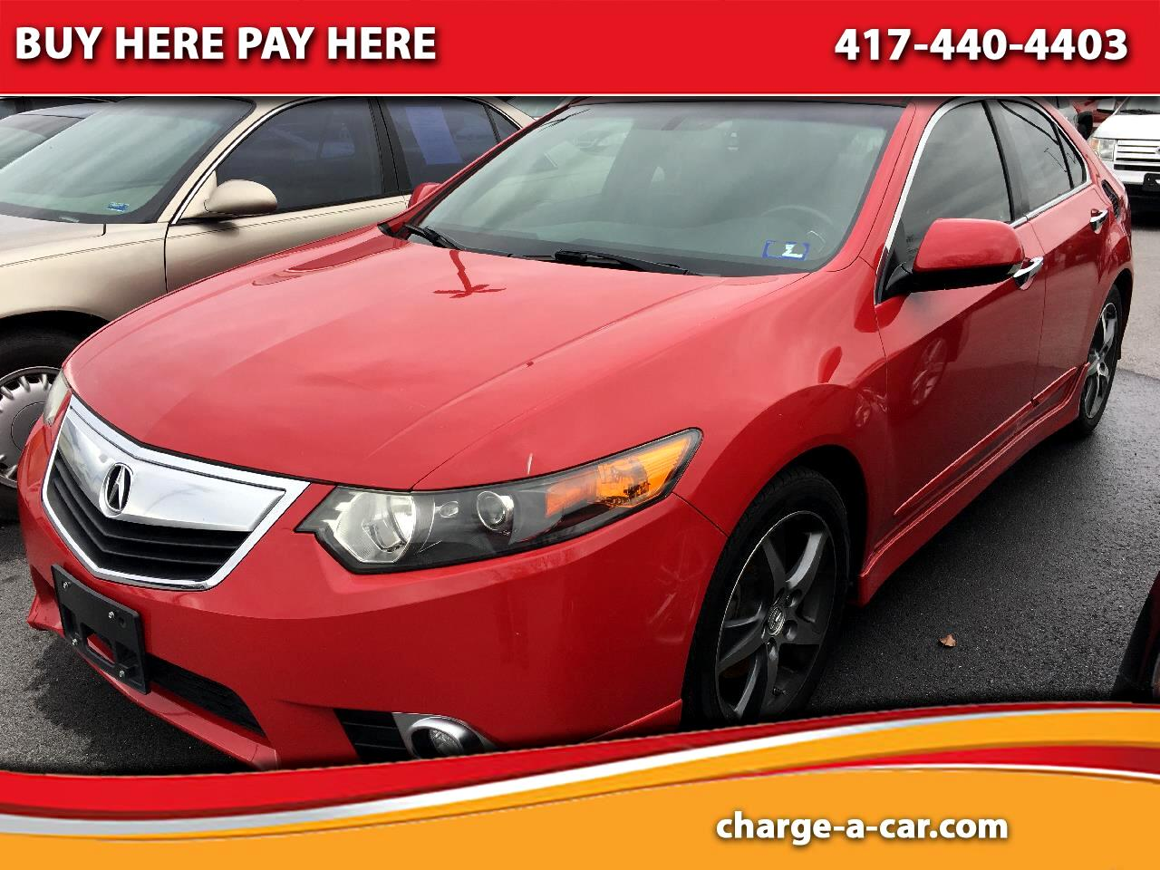 Acura TSX 4dr Sdn I4 Auto Special Edition 2012