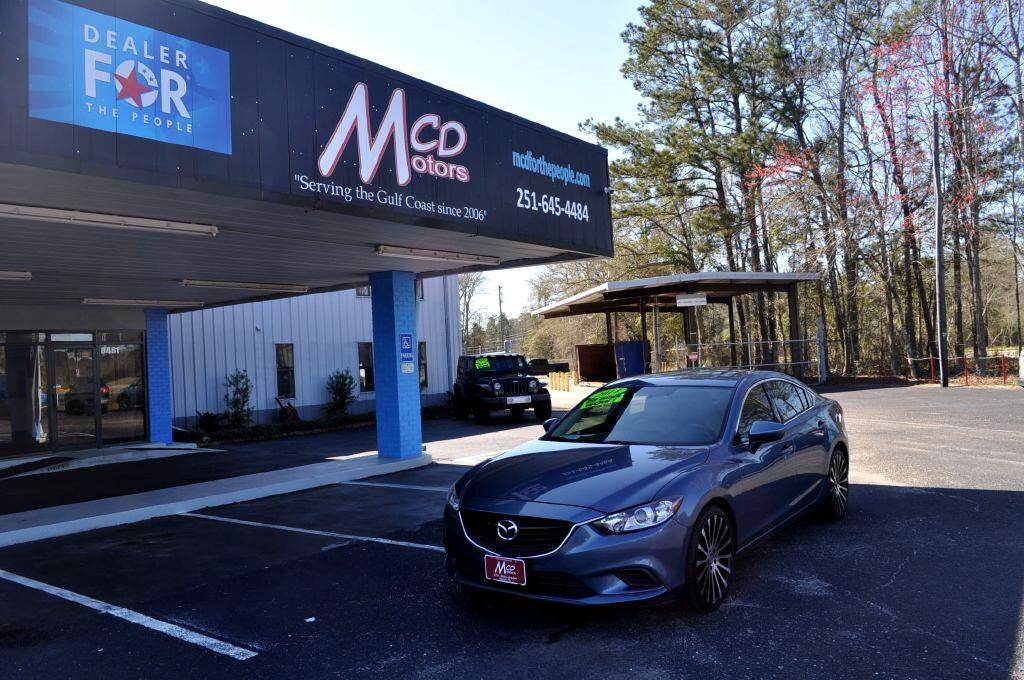 Mazda MAZDA6 4dr Sdn Man i Sport 2014