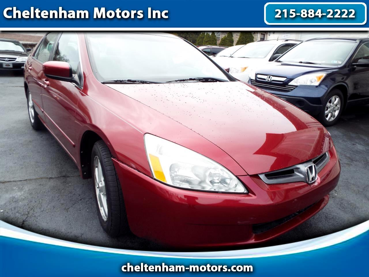 Honda Accord EX Sedan AT with Side Curtain Airbags 2004