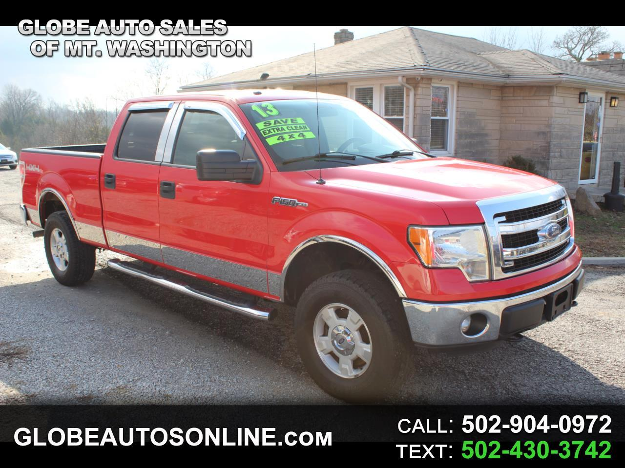 "Ford F-150 4WD SuperCrew 150"" XLT 2013"