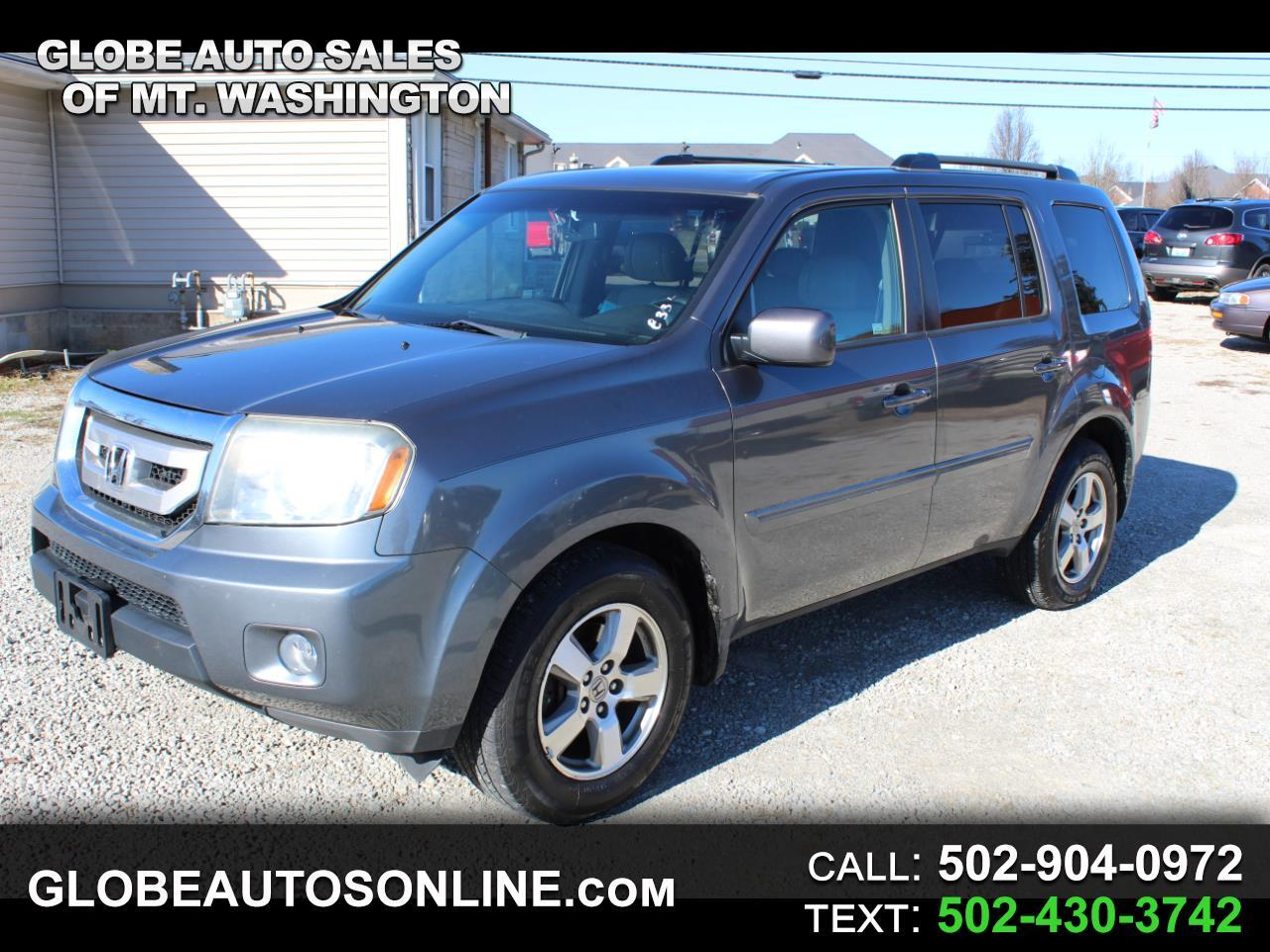 Honda Pilot EX-L 2WD 5-Spd AT with DVD 2010